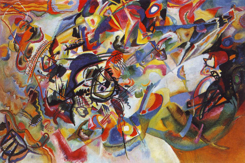 Wassily Kandinski Composition VII painting