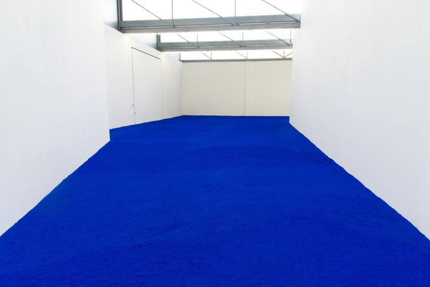 Yves Klein exhibition view