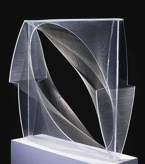 Naum Gabo Linear Construction in Space
