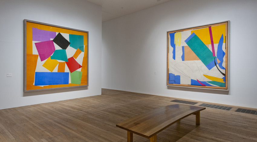 Henri Matisse The Snail and Memory of Oceania paintings