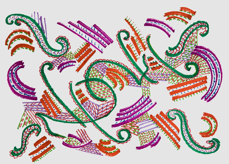 Monir Shahroudy Farmanfarmaian art