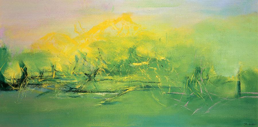 Zao Wou-Ki painting works
