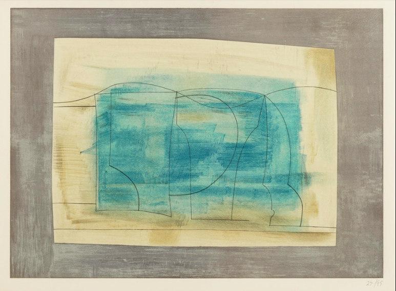 Still Life by British abstract painter Ben Nicholson