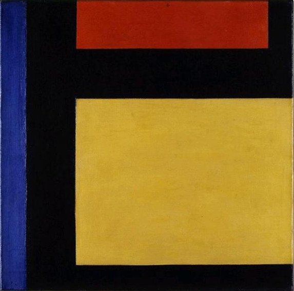 Theo van Doesburg Counter composition X