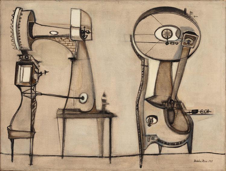 Hedda Sterne Machine Anthropograph No 13