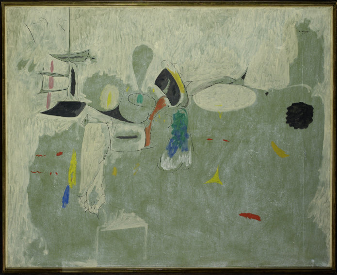 Arshile Gorky The Limit painting