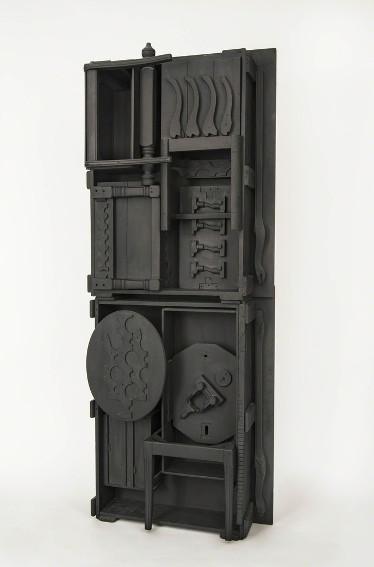Louise Nevelson sculpture