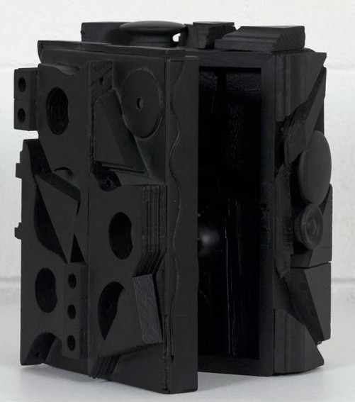 Louise Nevelson Dark Cryptic