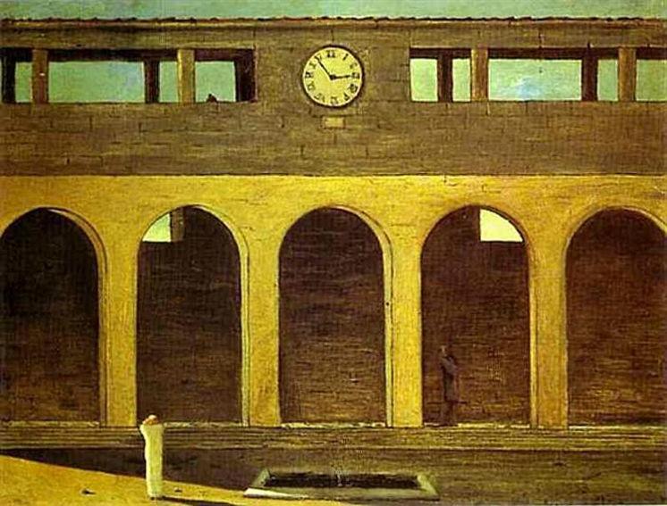Giorgio de Chirico The Enigma of the Hour