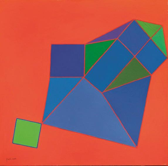 Achille Perilli painting