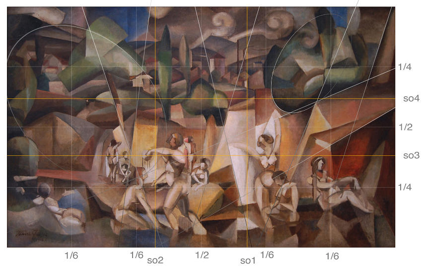 Albert Gleizes The Bathers