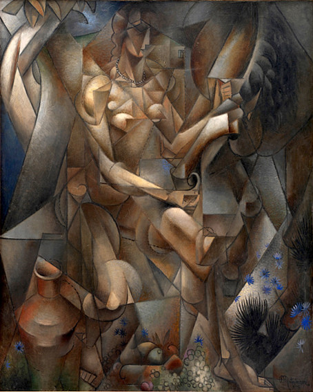 Jean Metzinger Woman with a horse