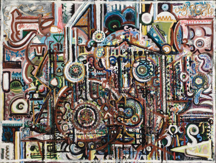 Richard Pousette-Dart Untitled painting