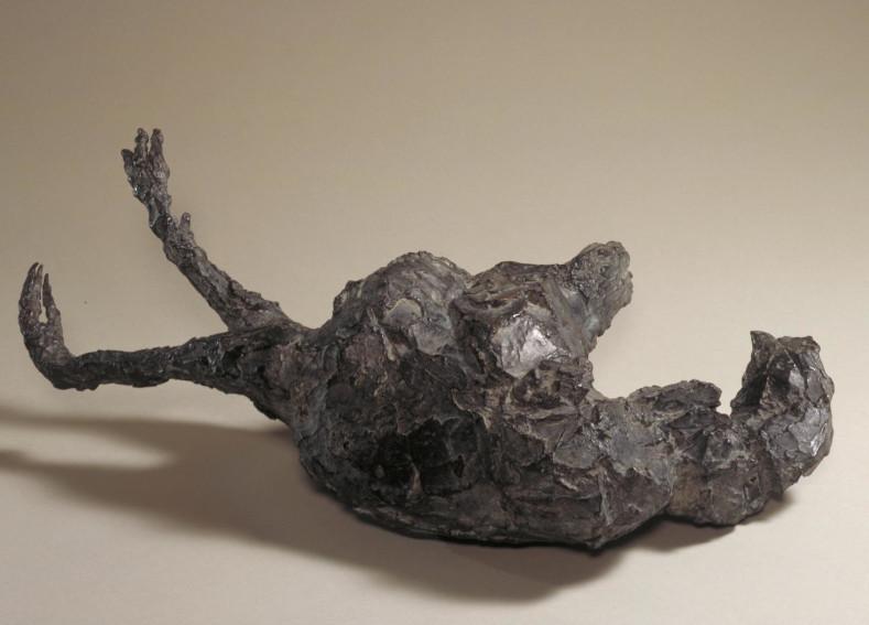 Dame Elisabeth Frink Dead Hen sculpture