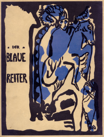 Wassily Kandinsky Cover of Der Blaue Reiter almanac