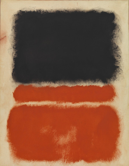 Mark Rothko Untitled (Red)painting