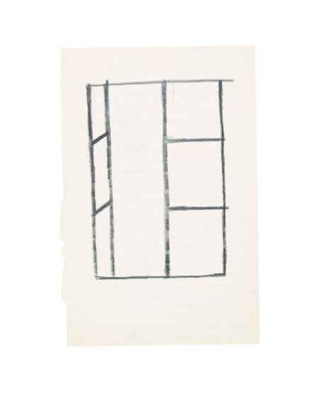 Ellsworth Kelly Open Window painting