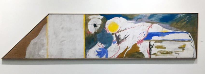 Helen Frankenthaler Beach Horse painting