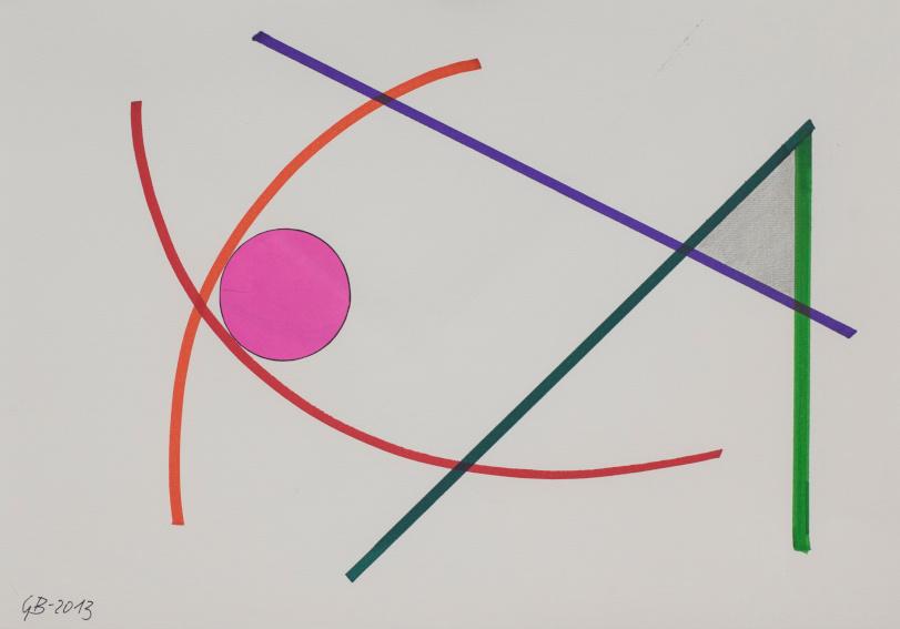Geta Bratescu Marker-art drawing