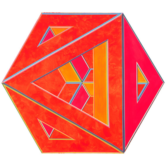 Alvin Loving Septehedron 34 painting