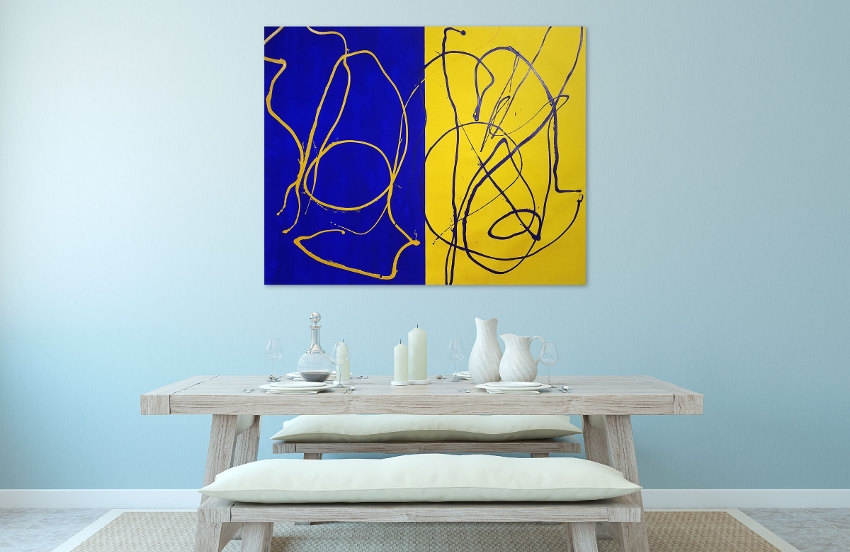 large abstract art paintings