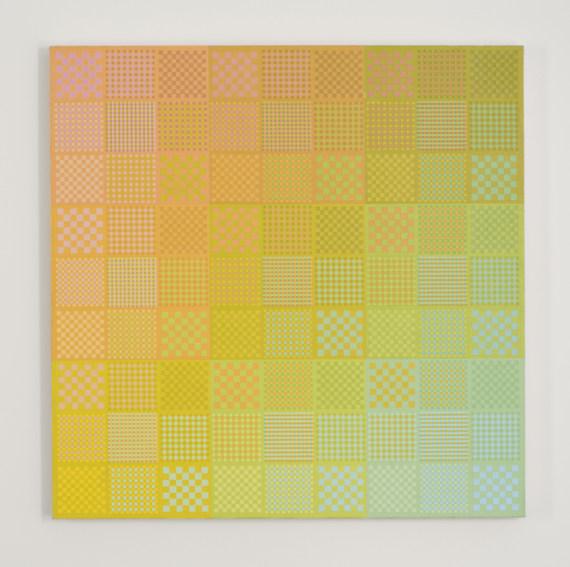 Sanford Wurmfeld II-25 (Yellow DN-LN) painting