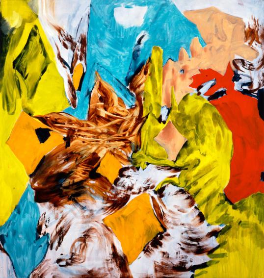 Charline von Heyl Bluntschli painting