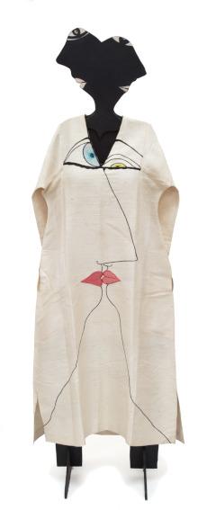 Huguette Caland Tete a Tete (Dress #3) fabric