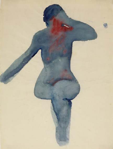 Georgia O Keeffe Nude Series VIII drawing
