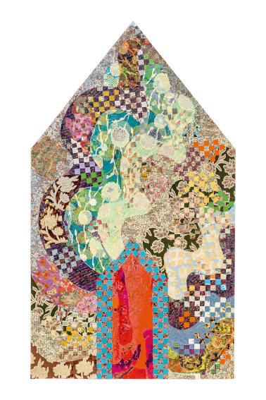 Miriam Schapiro Dormer painting