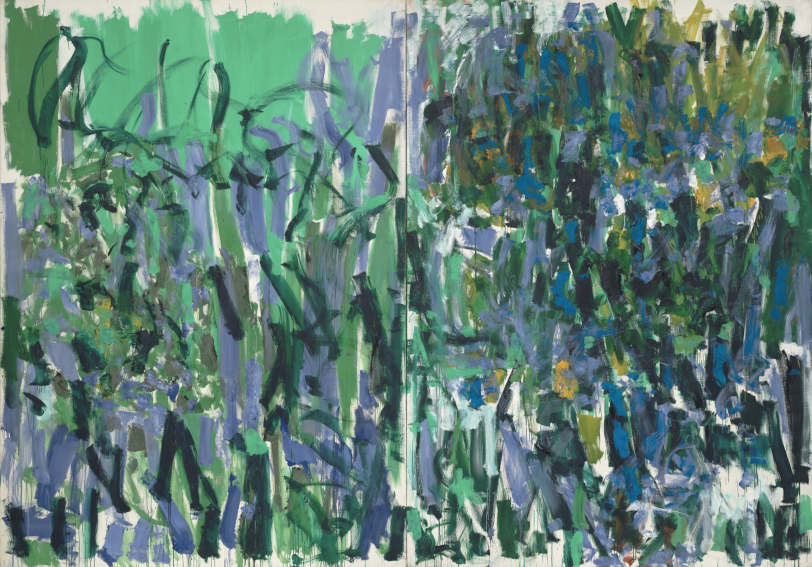 No Rain painting by American artist Joan Mitchell