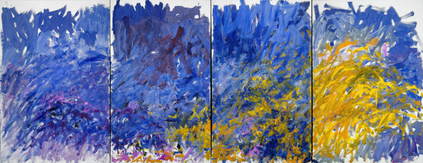 Edrita Fried painting by American artist Joan Mitchell