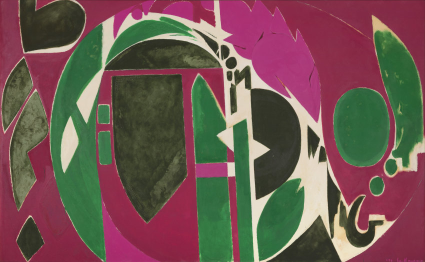 Lee Krasner Palingenesis painting