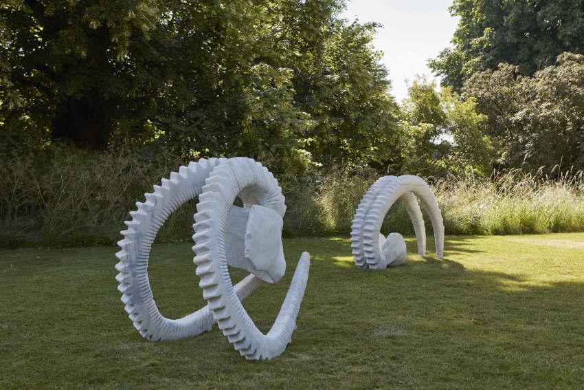 Vanessa Paschakarnis Capricorno sculpture