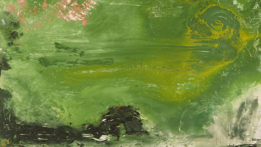 Helen Frankenthaler Overture painting