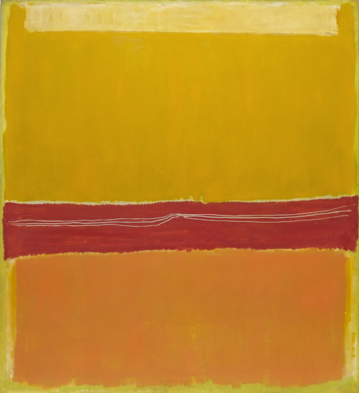 Mark Rothko No. 5/No. 22 painting