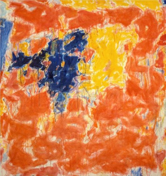 Sam Francis Arcueil painting