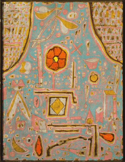 Paul Klee Efflorescence painting