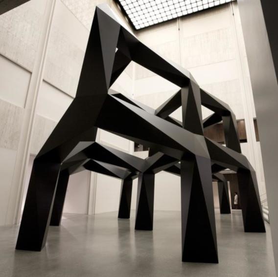 Tony Smith Smoke sculpture