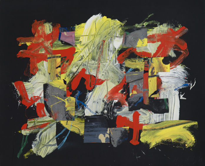 Frank Wimberley Siempre painting