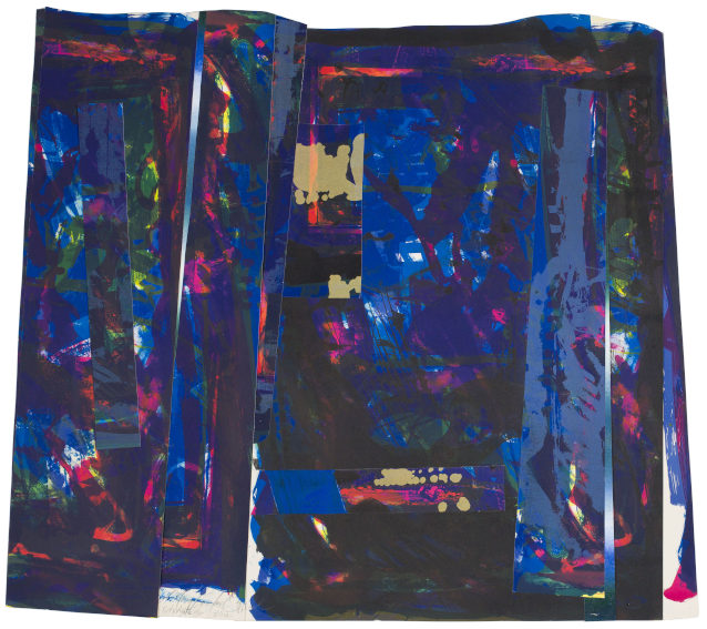 Mary Lovelace ONeal City Lights print