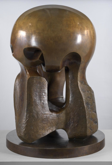 Henry Moore Atom Piece (Working Model for Nuclear Energy) sculpture