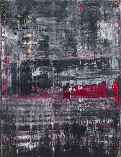Gerhard Richter Birkenau oil on canvas