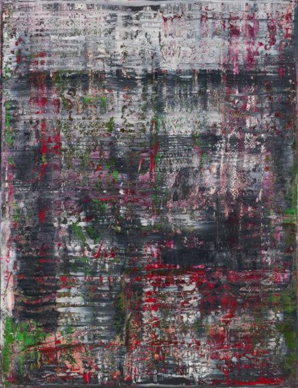 Gerhard Richter Birkenau art painting