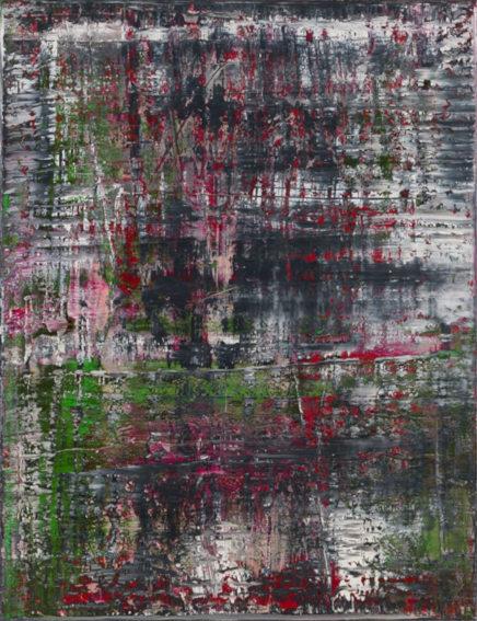 Gerhard Richter Birkenau painting