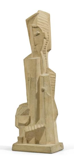 Henri Laurens Femme au Compotier sculpture