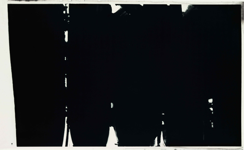 Pierre Soulages Painting 1968