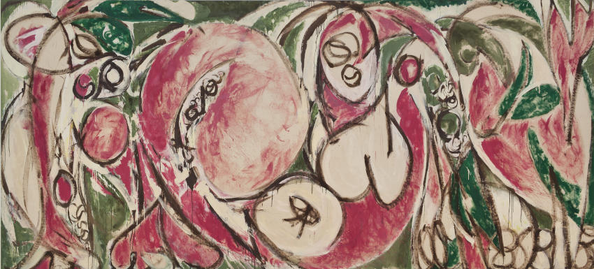 Lee Krasner The Seasons painting