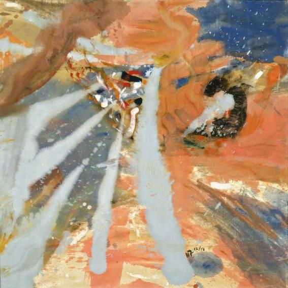 Helen Frankenthaler Mount Sinai painting