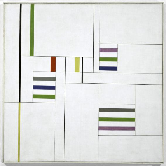 Alfredo Hlito Chromatic Rhythms III painting